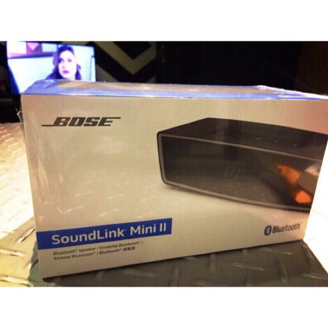 Bose SoundLink Mini II 台灣公司貨 黑色