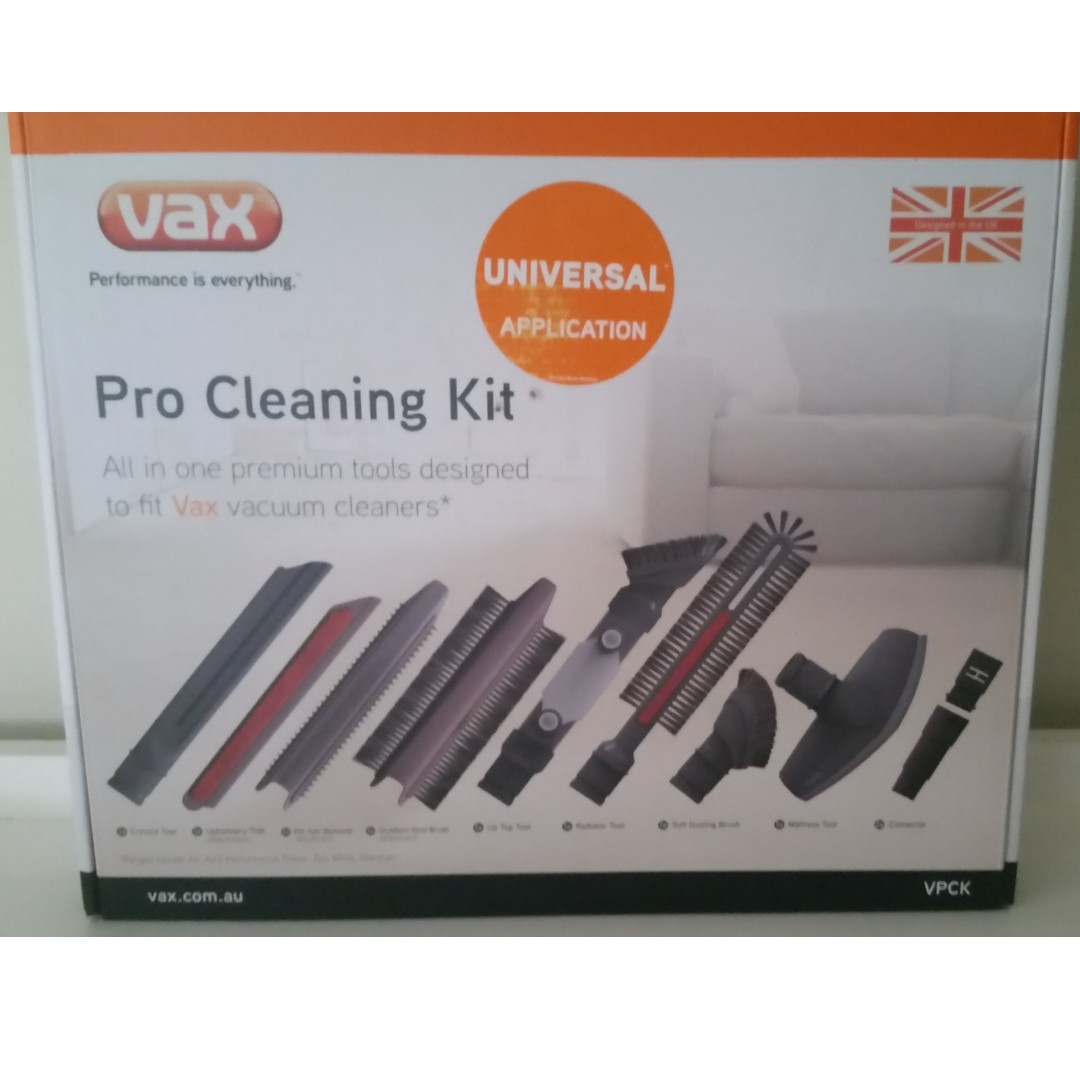 **BRAND NEW** VAX PRO CLEANING KIT VACUUM ATTACHMENTS ($15 POSTAGE)
