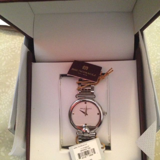 BRUNOMAGLI ladies watch. Made in Italy brand, Swiss Made Dial BNIB