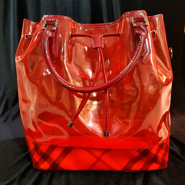 Burberry Transparent Summer Bag