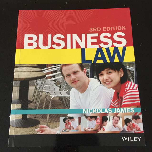 Business Law 3rd Edition Nikolas James