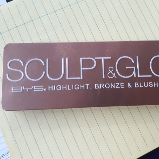 BYS Sculpt and Glow Palette