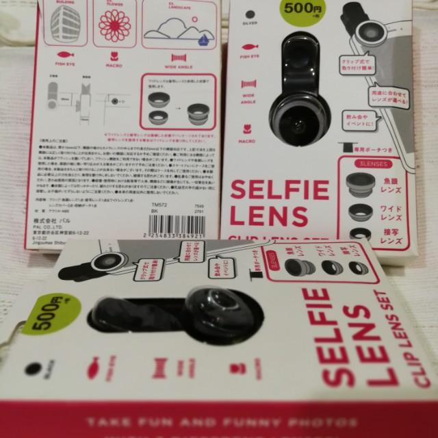 Camera clip lens