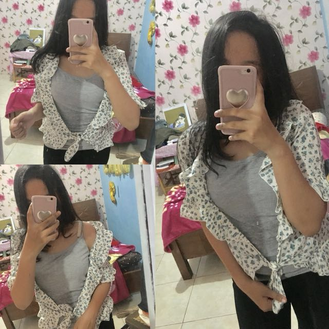 Cardigan outer preloved baju second bekas shirt