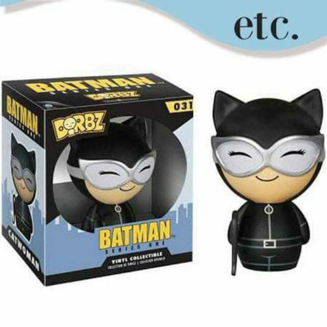 Catwoman Black Suit Dorbz Vinyl Figure