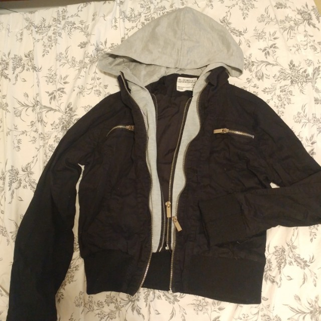 Causal bomber jacket, size small