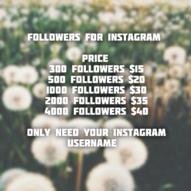 Cheap Followers