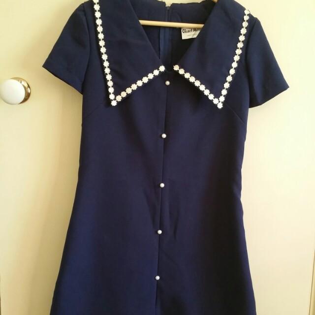 Closet Mod short blue dress