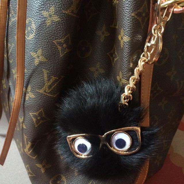Cute Fur Bag Charm