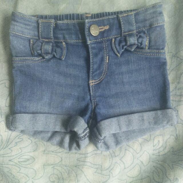 Denim Shorts (Old Navy)