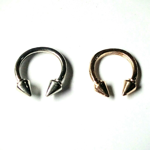 Double Ended Arrow Ring