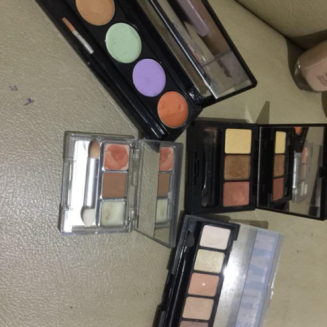 Eyeshadow makeover, nyx, wardah, concealer makeover