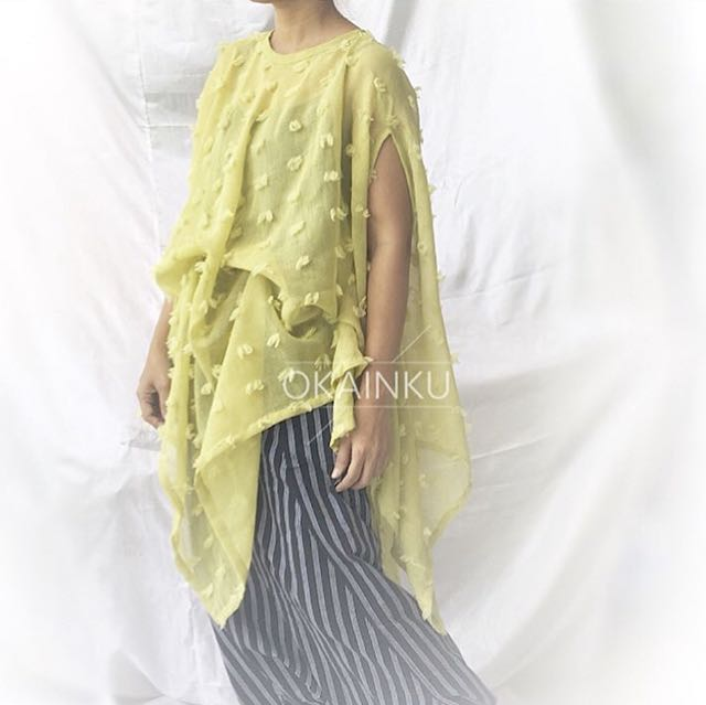 Foa dress okainku green lime