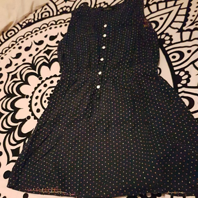 Folded and Hung Buttoned Dress