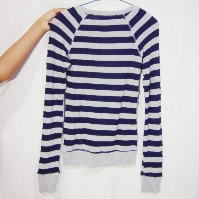 forever 21 stripes sweater