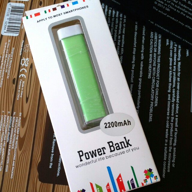 FREE Powerbank charger (w any purchase)