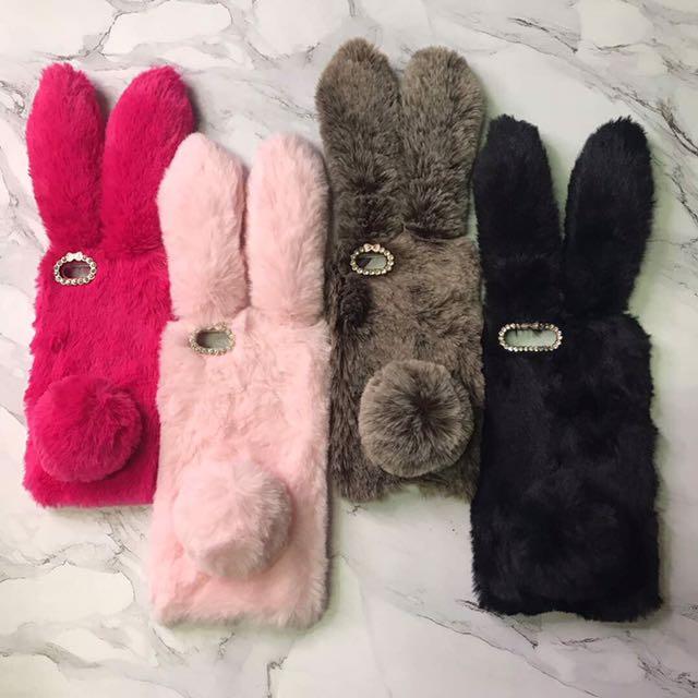 Fur Bunny case