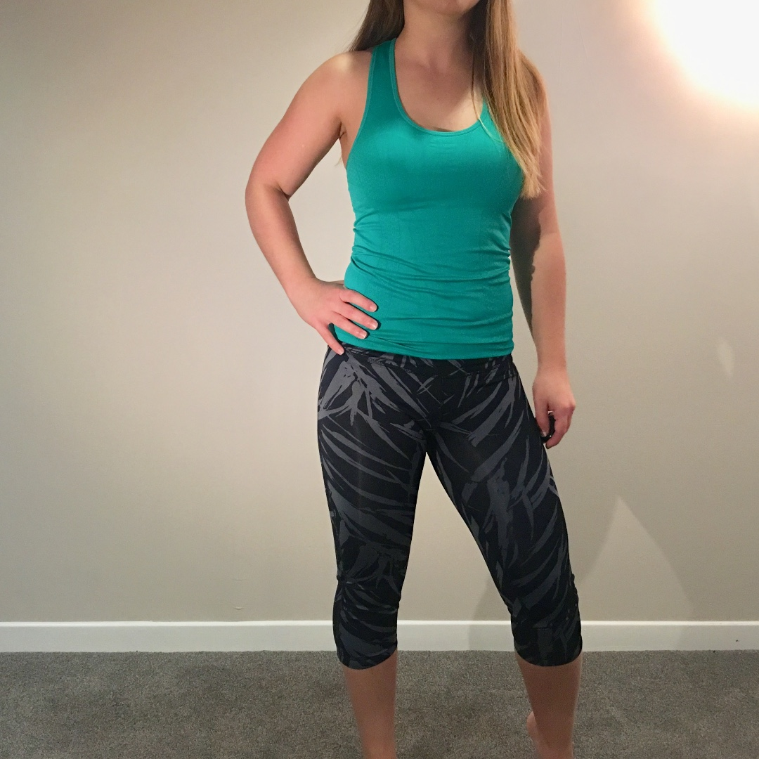 Gap Fit Crop Workout Pants Tights Size Small (S)