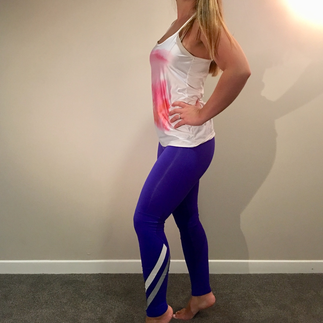 Gap Workout Tights Leggings Bright Blue Size XS