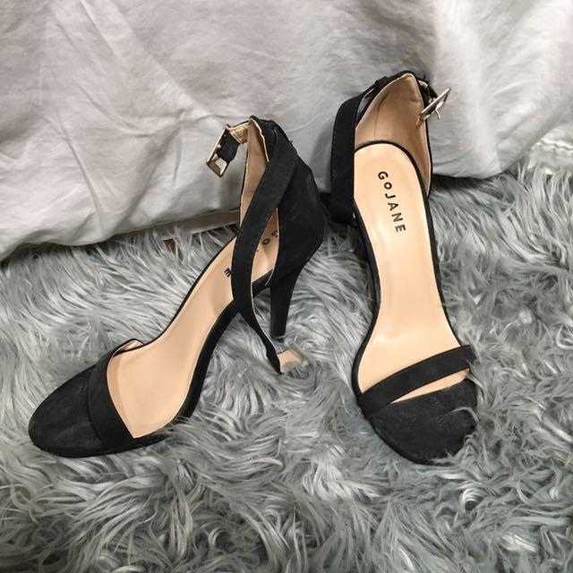 Go Jane ankle strap heels