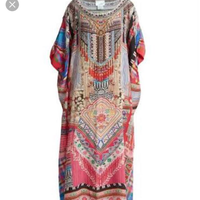 Hani Heaven Long Round Kaftan $430