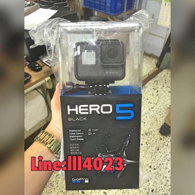現貨Hero5 送4k記憶卡 全新公司貨