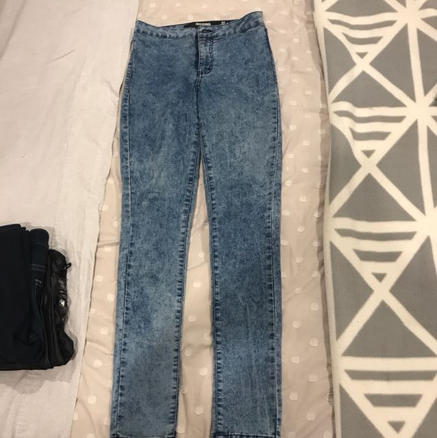 High waist jeans/jeggings
