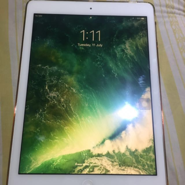 IPAD AIR Wifi Cellular 16G Silver With Sim Slot (repriced)