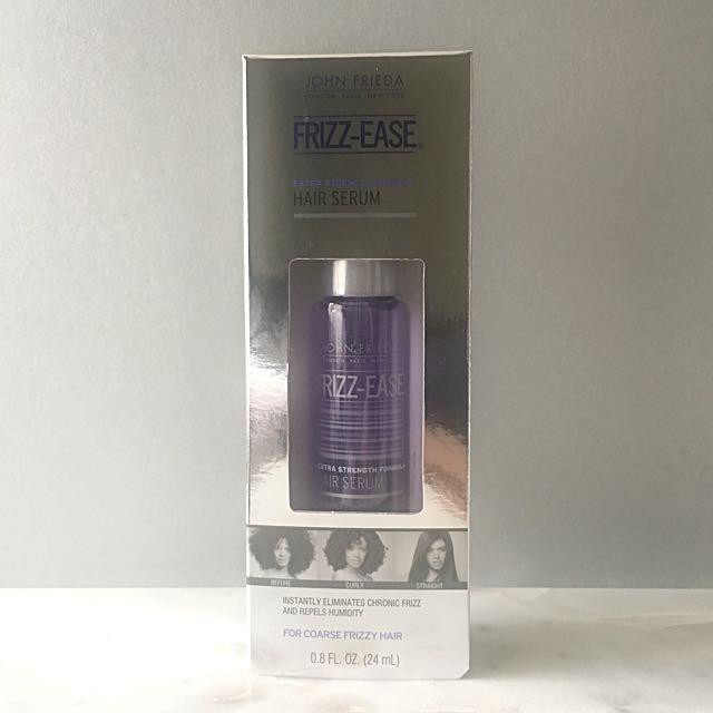 J O H N. F R I E D A • Frizz-Ease Hair Serum