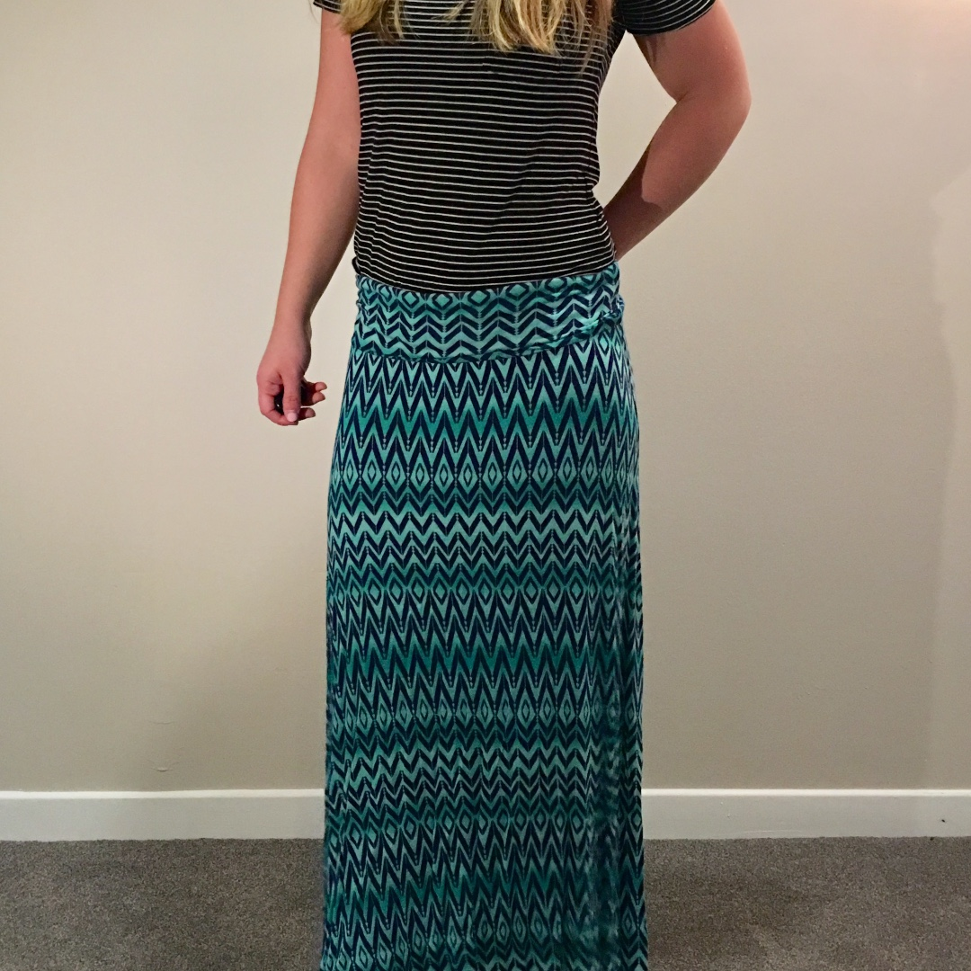 Jean Machine Maxi Skirt Size XS
