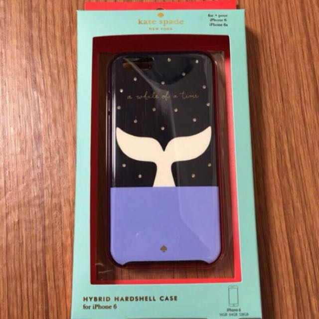 Kate spade ♠️ iphone6/6s 手機殼 鯨魚尾巴 A Whale of A time
