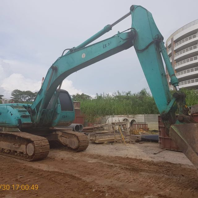 Kobelco Hydraulic Excavator (SK200-V), Cars, Other Vehicles