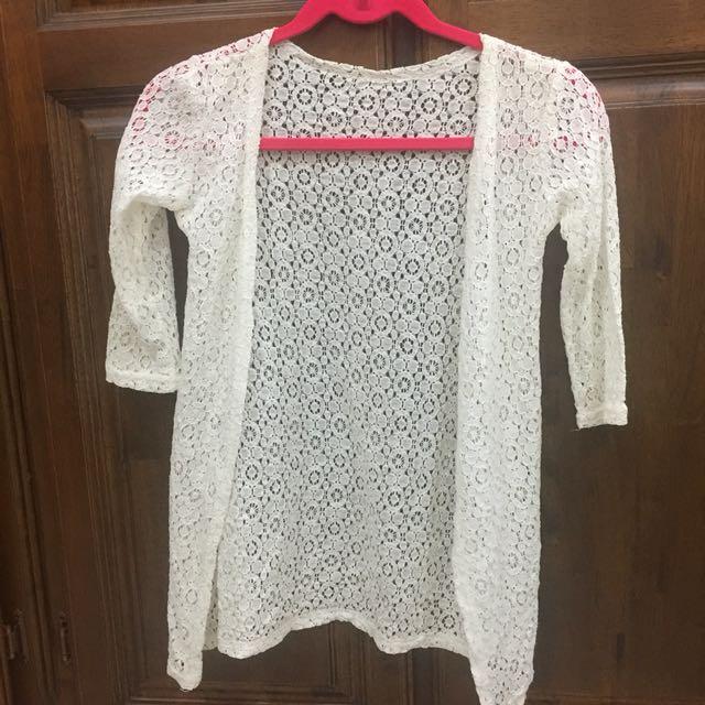 Lace outwear