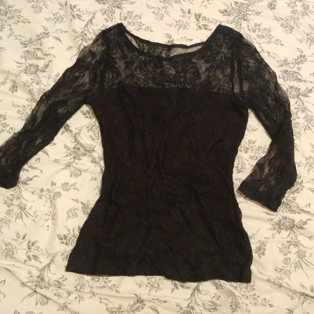 Lace top, xs.