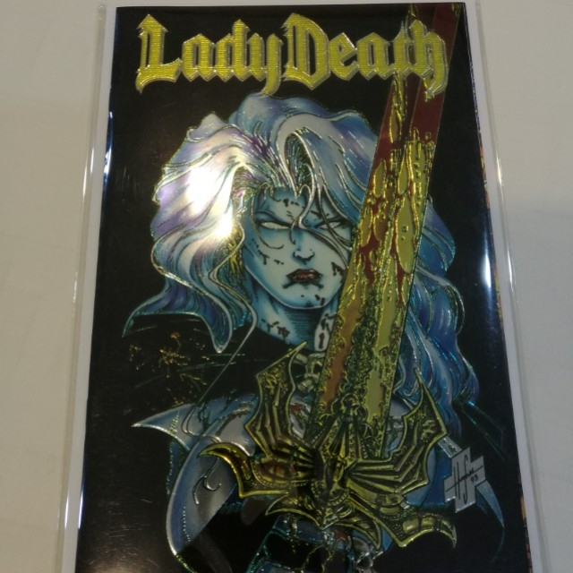 Lady Death #1, 1994 Chromium Cover