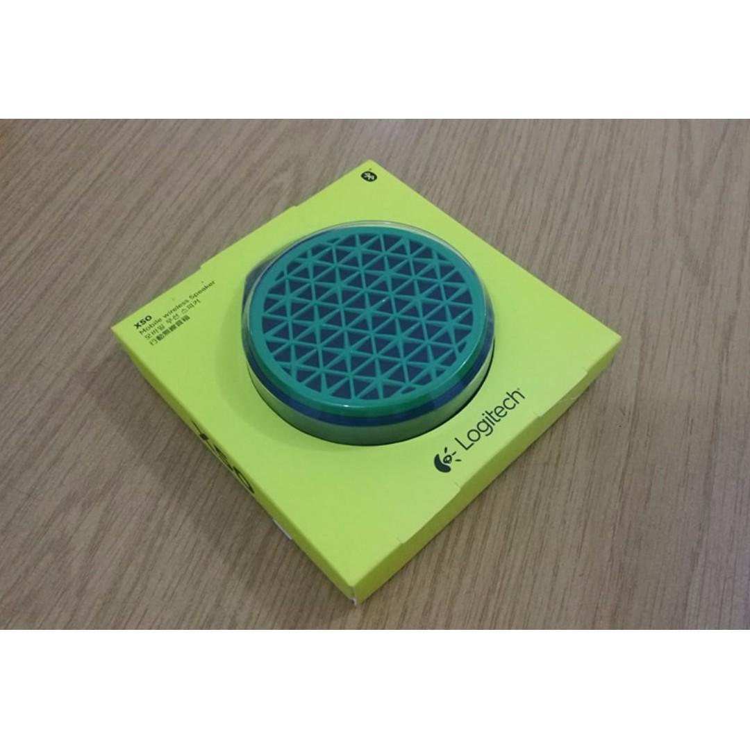 Logitech X50 Bluetooth Speaker Green Electronics Audio On Carousell