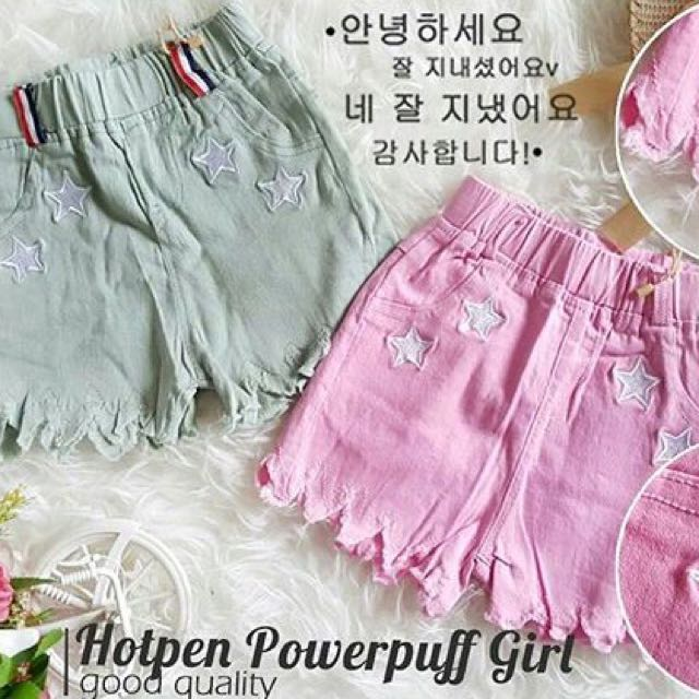 LS HOTPANTS POWERPUFF GIRL (IMPORT)