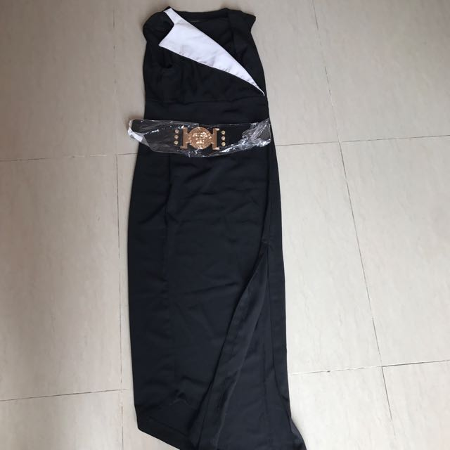 Luxiang Dress Slit