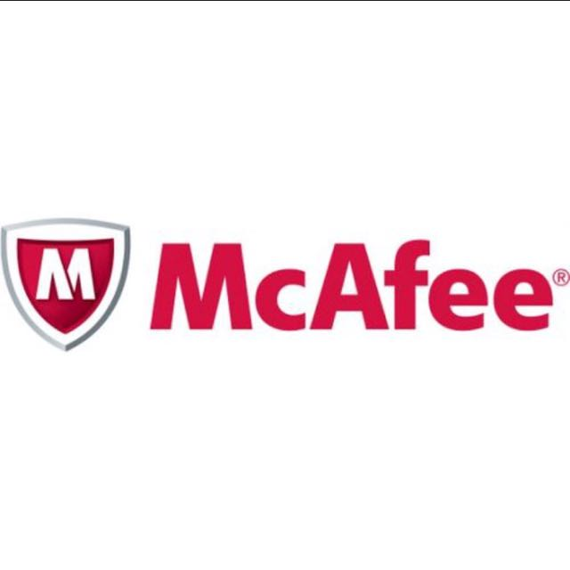 McAfee Anti Virus - 1 year subscription