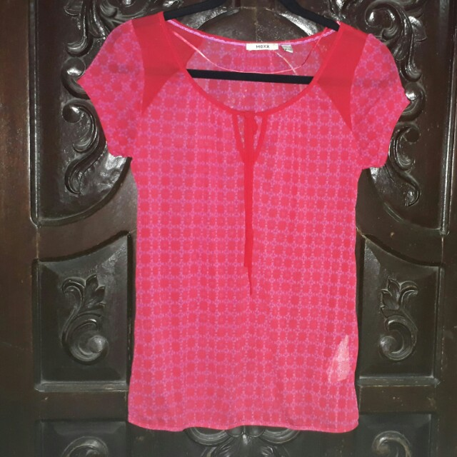 Mexx See through blouse from japan
