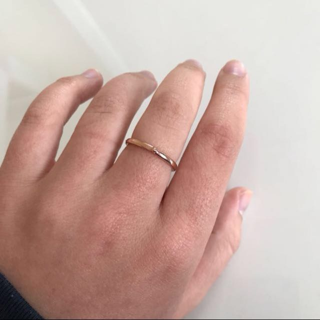 Mimco™ Dainty Rose Gold Ring
