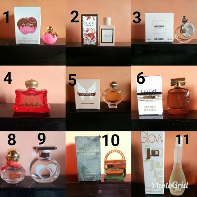 Mini Perfumes on Sale 300-450