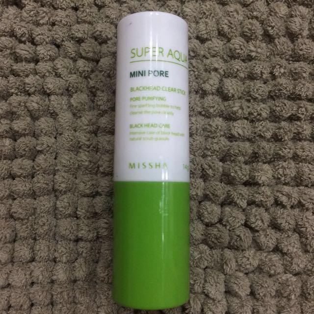 Missha Mini Pore Blackhead Clear Stick (95% of 14g tube left)