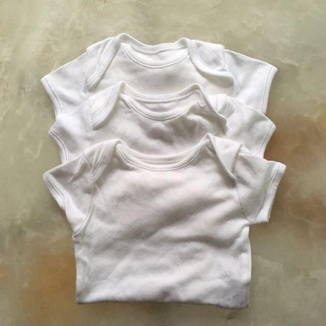 Mothercare White Onesies Bundle
