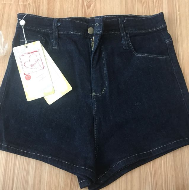 Navy by shorts