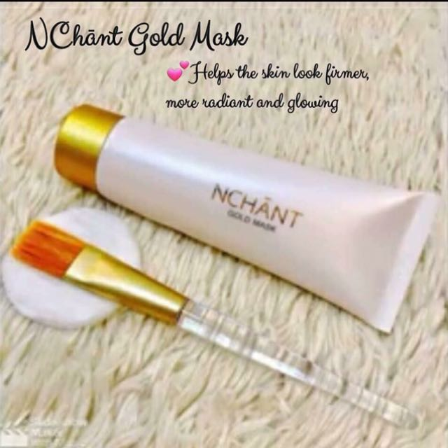 NChant Gold Mask
