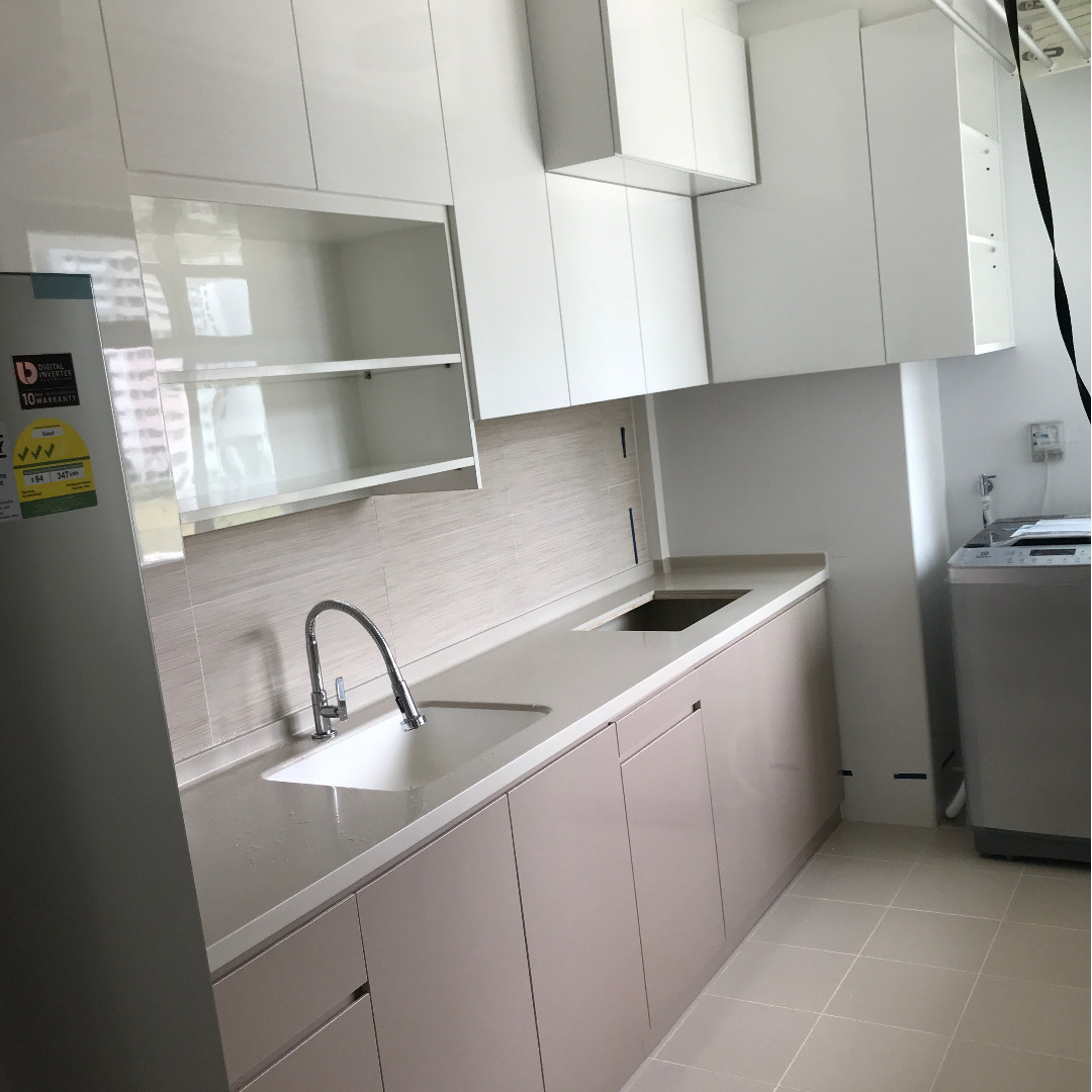 New Customized Built-In Kitchen Cabinets, Furniture, Shelves ...