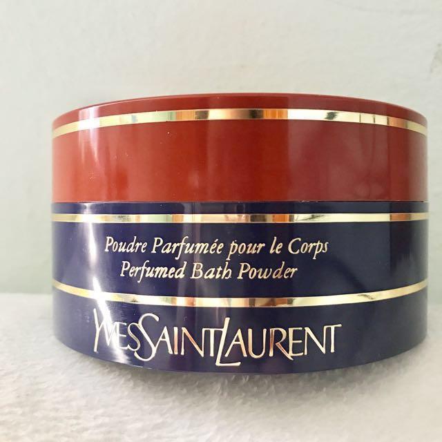 New Rare Yves Saint Laurent Opium Perfumed Bath Powder free shipping