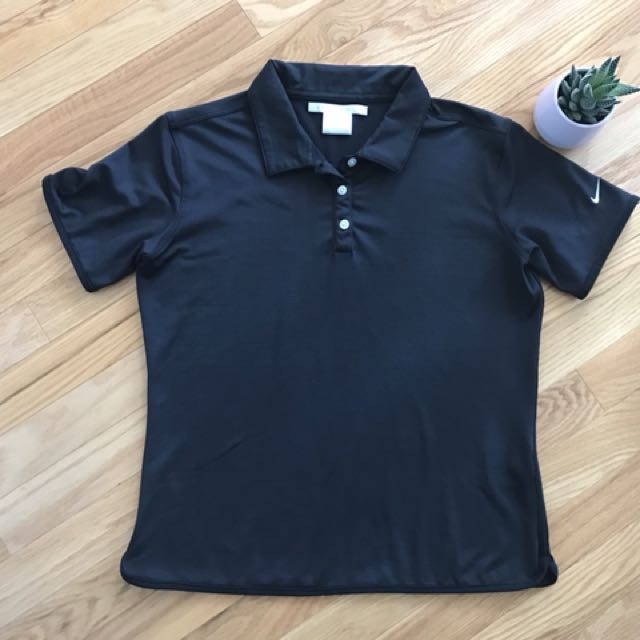 Nike Golf black polo size small