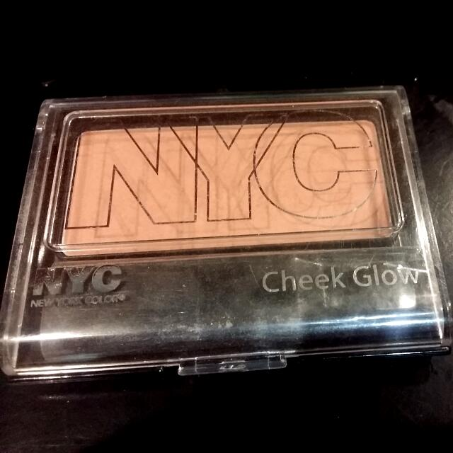 Nyc Cheek Blush  655 Central Park PinK, free MM SHIPPING, ORIGINAL NOT EXPIRED
